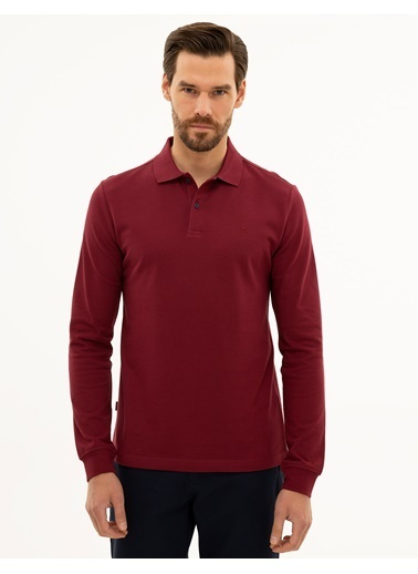 Pierre Cardin Sweatshirt Bordo